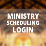 Ministry Scheduling Login