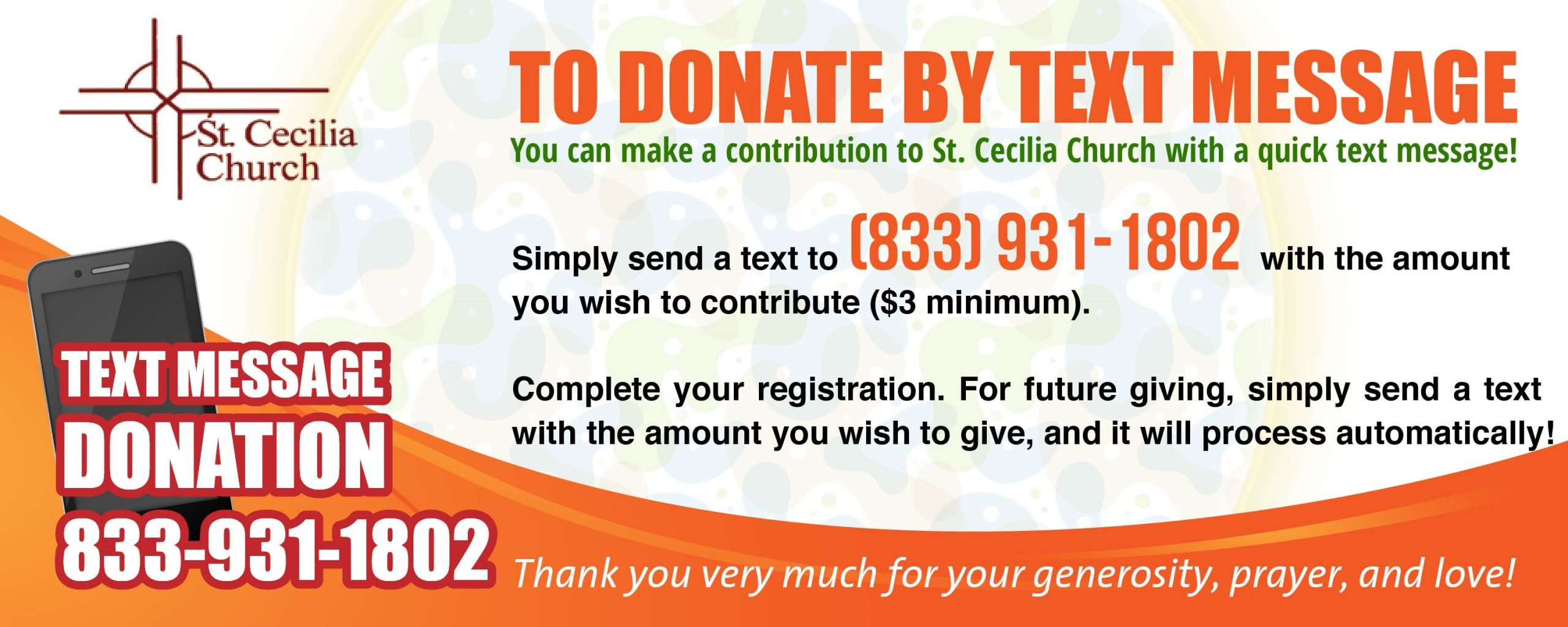 Donation by Text